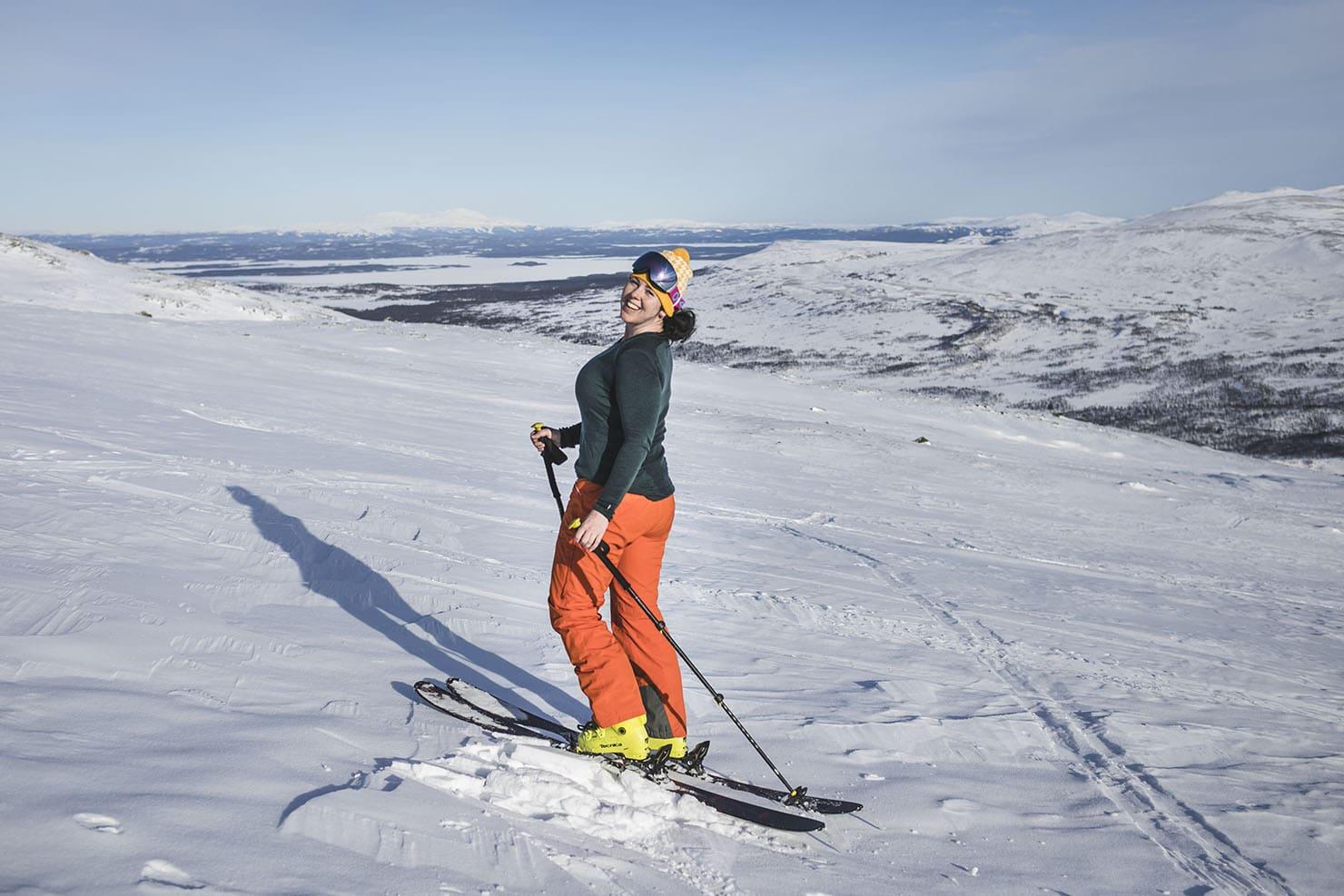 Toppturer i Jämtland Getryggen