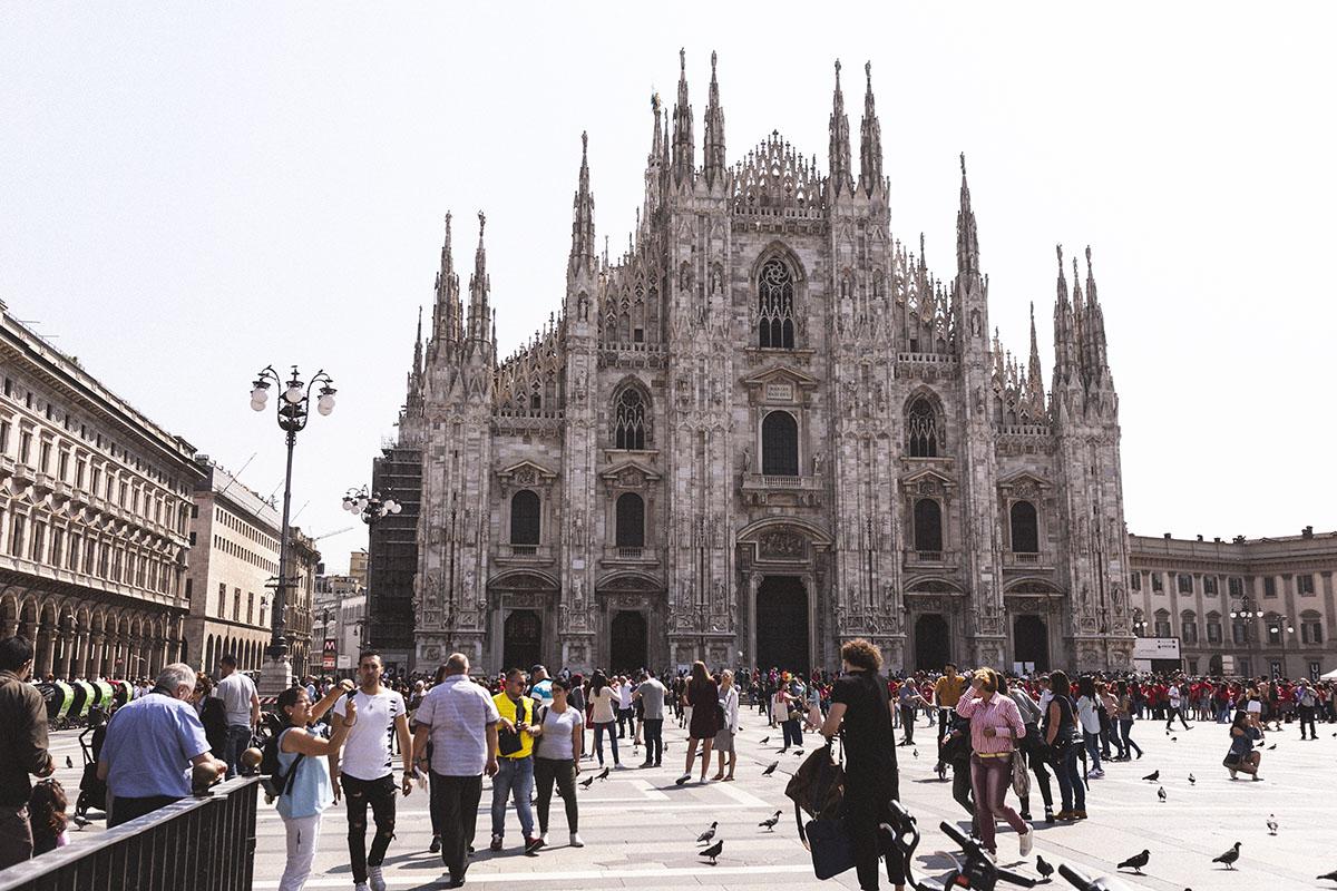 Milano katedral