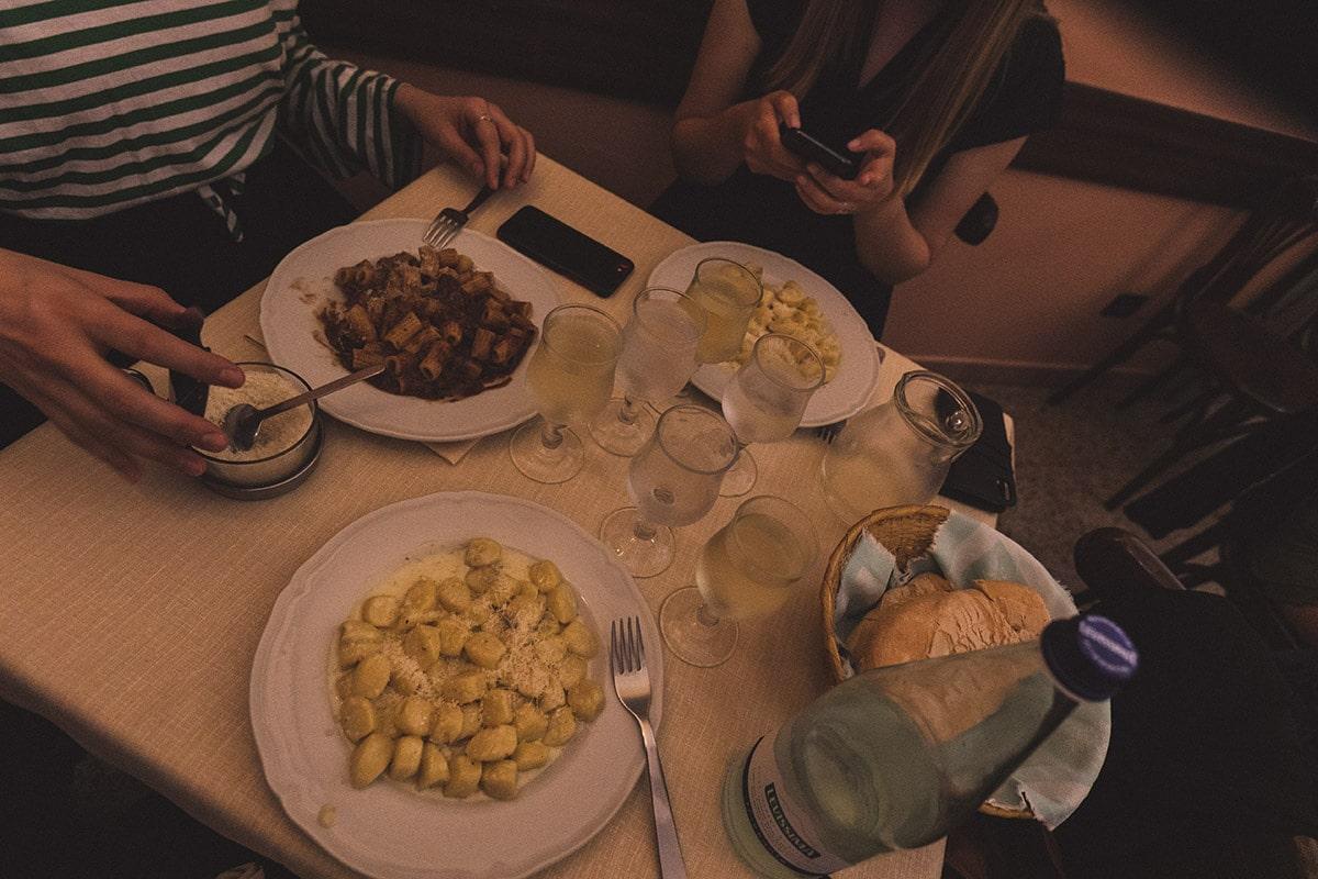 Milano restaurang