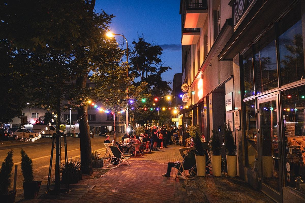 Neon streetfood Gdynia