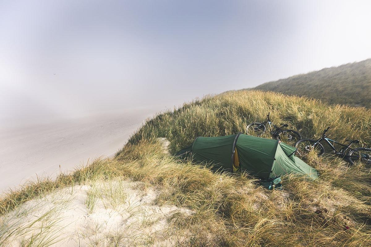 Bland sanddynerna i Danmark