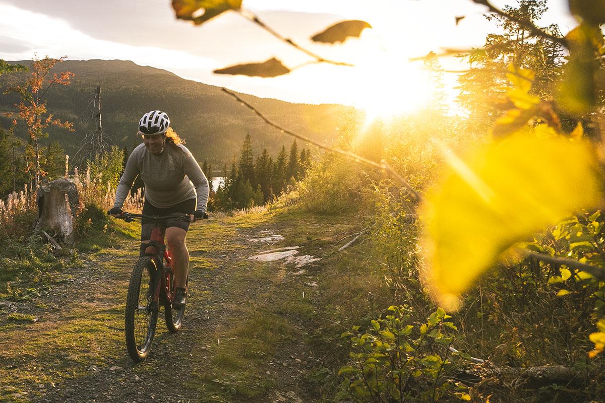 Magisk mountainbikecykling i Åre XC Arena