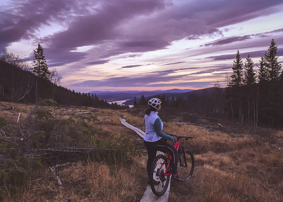 Sara Rönne cykling