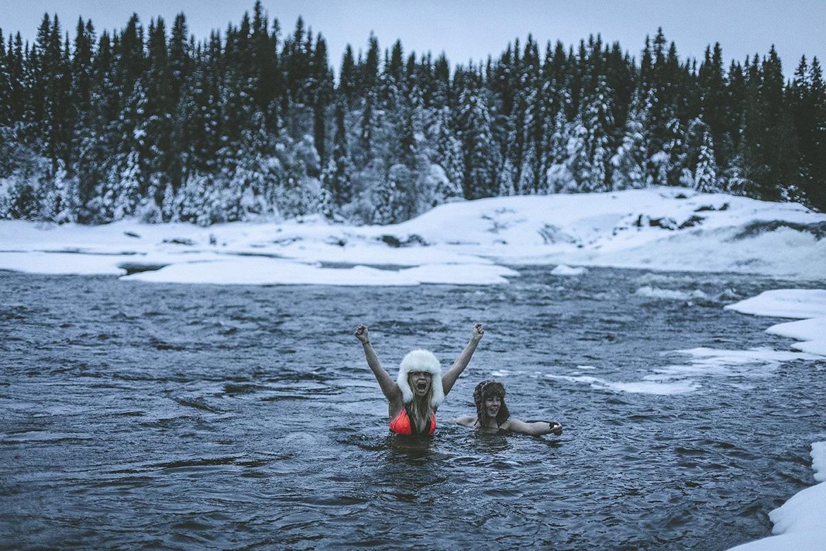 Vinterbad