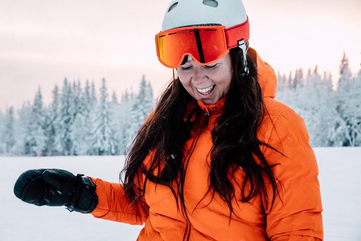 Spektrum goggles Sara Rönne