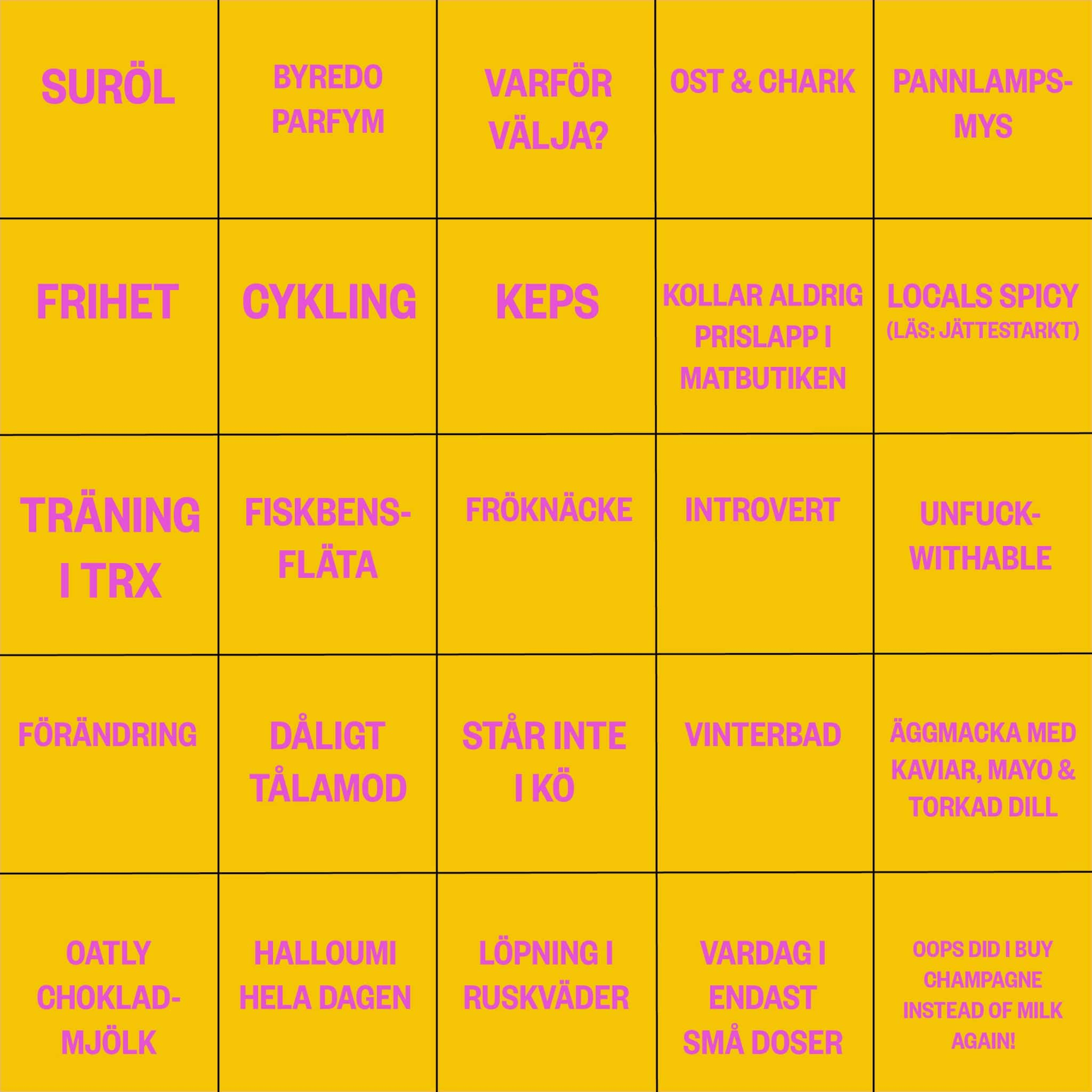 bingo blogg