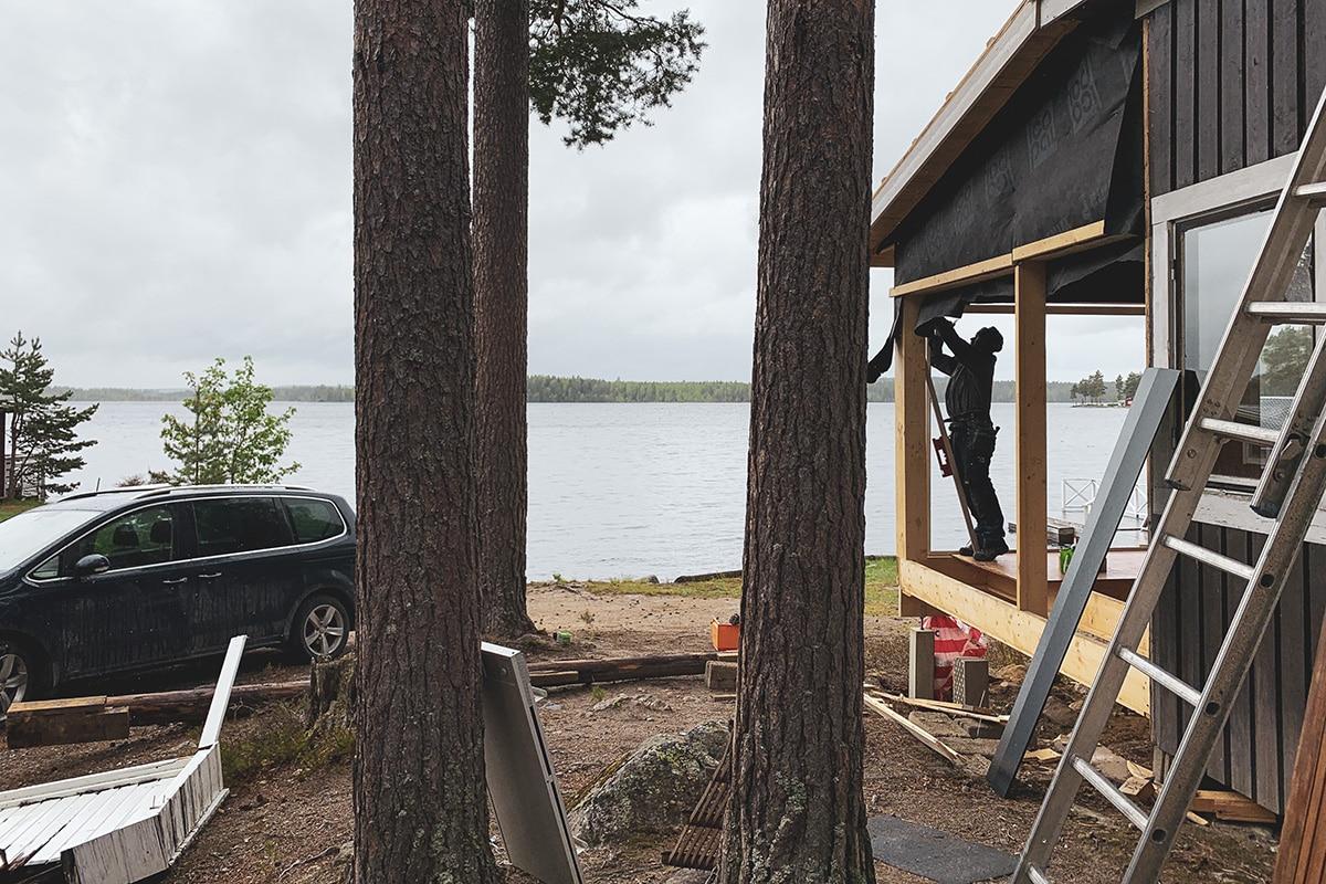 Helg i Hälsingland – och nya bilder från sommarstugan