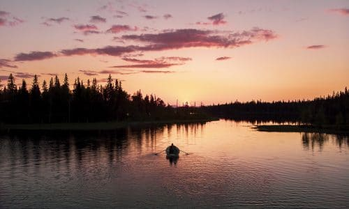 Huskucabin – ett dygn sommar i Offerdal