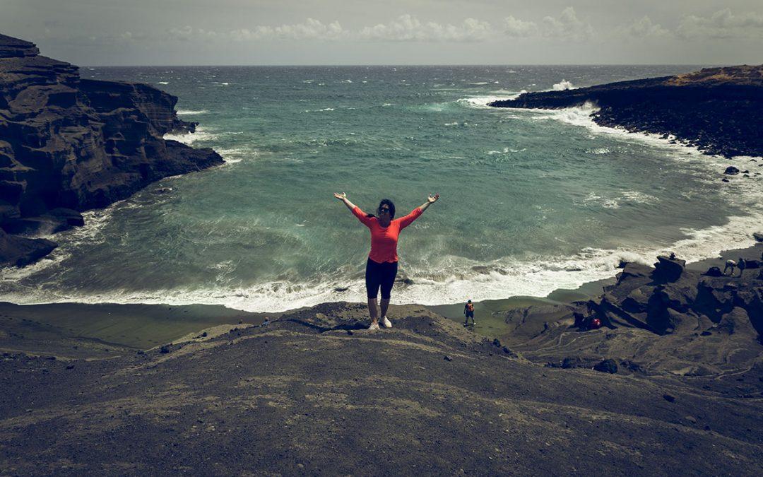 Green Sands Beach – en grön strand på Hawaii
