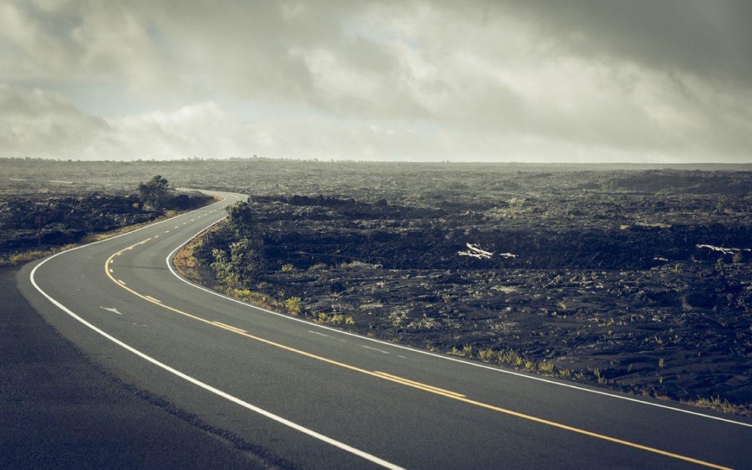 Dagen då vi körde över vulkanen på Hawaii