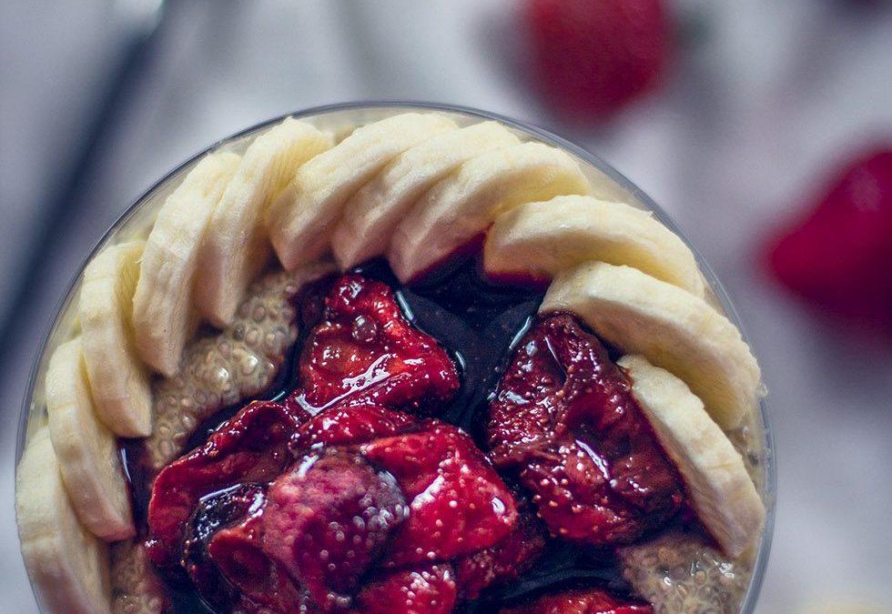 Balsamicorostade jordgubbar från Made by Marys gröna frukost