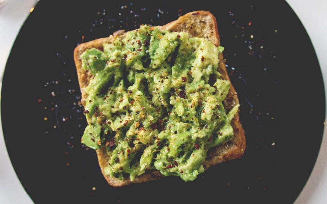 Avokadosmörgås – som på Café Gitane