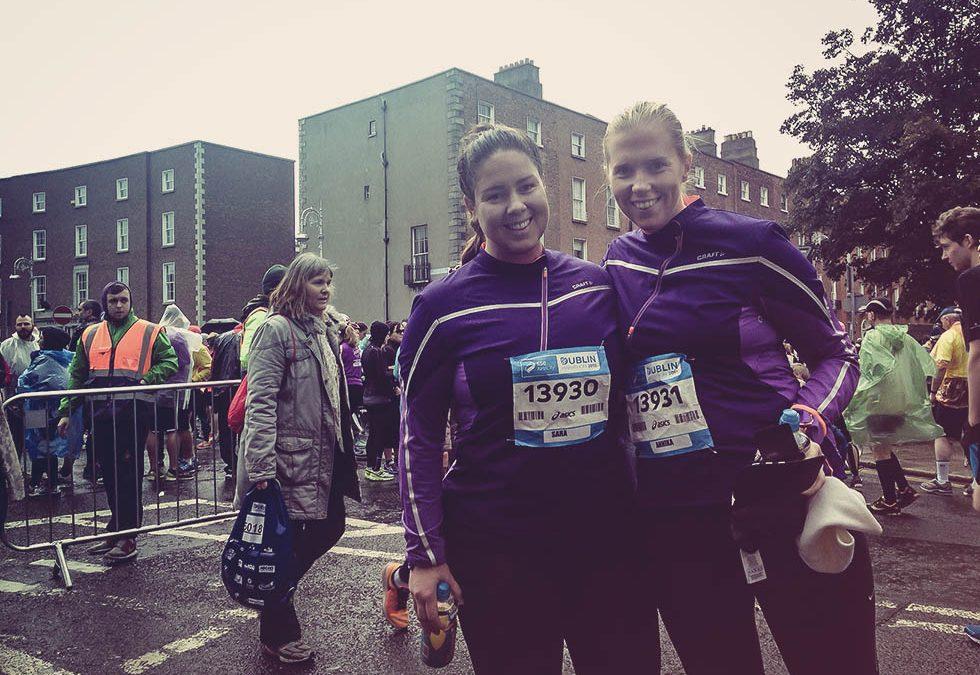 Vi sprang Dublin marathon!