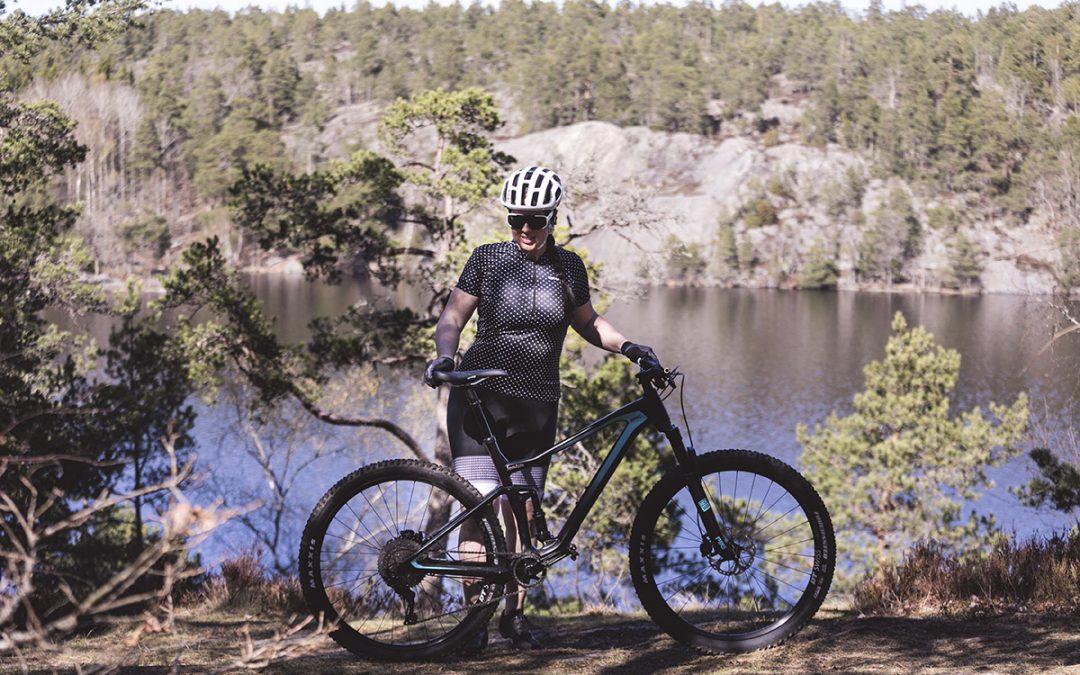 Rädd på mountainbike