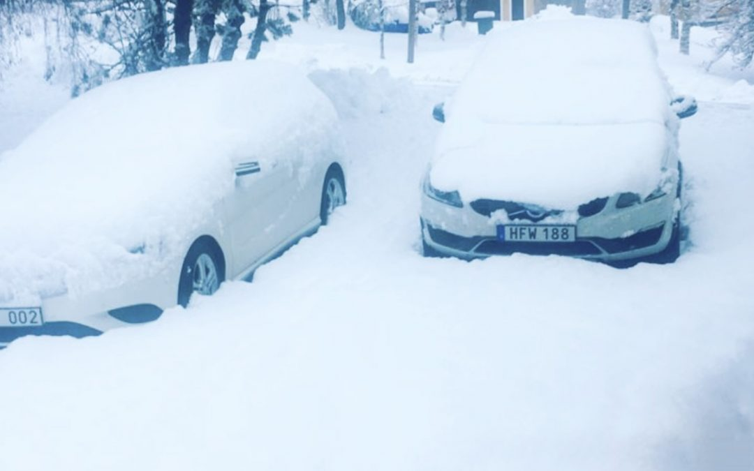 Nu är det vinter!